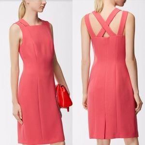 Hugo boss pink dress size 8